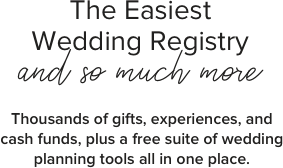 Wedding Registry List | The Home Of All Things Wedding Zola