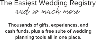 your dream wedding registry